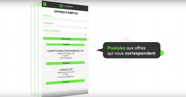 Candidats ou intérimaires, téléchargez vite l'application MYSOFITEX !