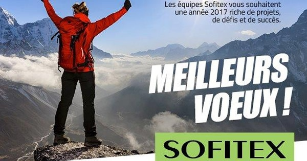 Sofitex vous souhaite une bonne année 2017