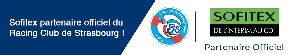 Sofitex partenaire officielle Racing Club Strasbourg