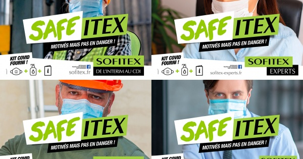 Nouvelle campagne : SAFE ITEX