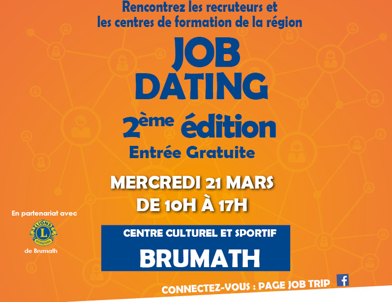 Job dating brumath 21 mars